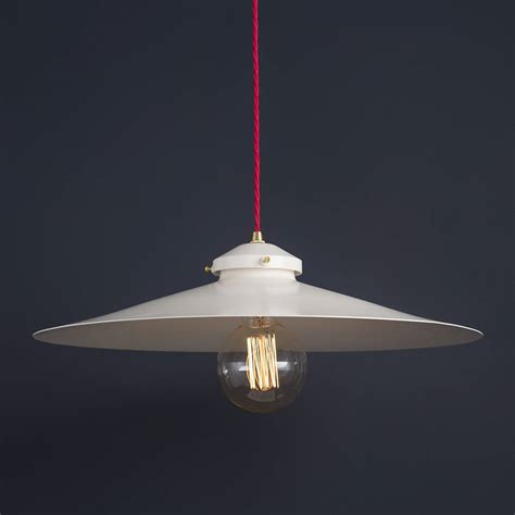 Industrial Shallow Pendant Light By Modern Classic