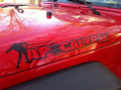 jeep hood decals product 2 zombie apocalypse jeep wrangler renegade