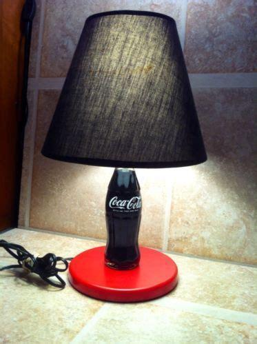 Vintage Coke Bottle Lamp