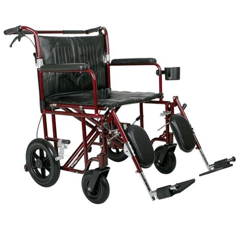 medline transport chair carry bag medline bariatric transport chair mds808200bar the home