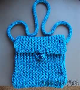 Loom Knitting Bag Pattern