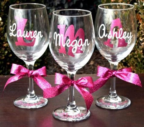 personalized stemless wine glasses for bridesmaids best 25 wedding wine glasses ideas on coupe