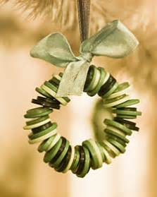 button wreath ornament step by step diy craft how to s and instructions martha stewart