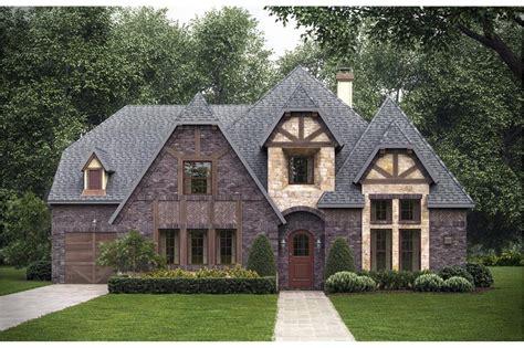 bedrm  sq ft tudor house plan