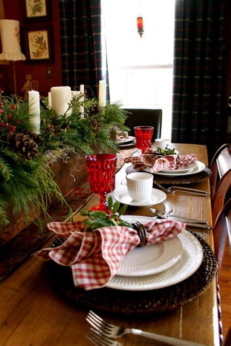 table settings for christmas 50 stunning christmas tablescapes style estate