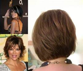 Short Stacked Bob Hairstyles Back View
