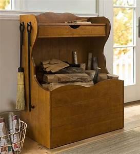 Firewood Storage Chest Wood Racks & Wood Storage