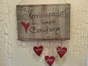 Türschilder Holz Familie : t rschild f r wohnungen haus t pfern pinterest ~ Lizthompson.info Haus und Dekorationen
