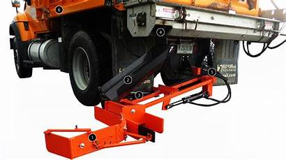 Shoulder Easy Quick Bonnell Truck Chute Pitch