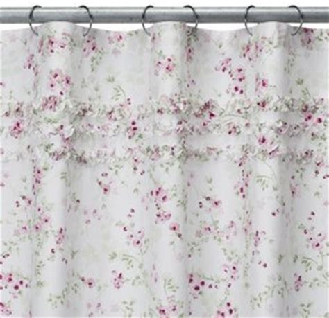 simply shabby chic shower curtain cherry blossom amazon com simply shabby chic 174 cherry blossom shower curtain home kitchen