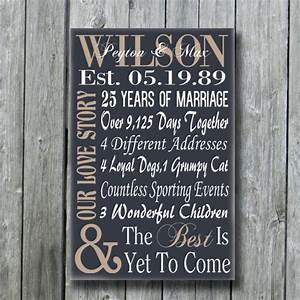 personalized 5th 15th 25th 50th anniversary giftwedding With 50th wedding anniversary gifts for my wife