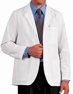 White Swan Meta 30 inch Men's Consultation Lab Coat