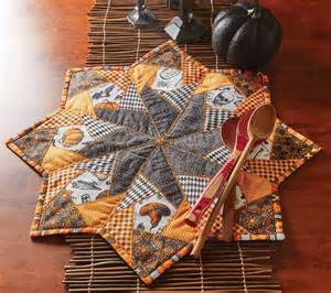 Crazy For Halloween Table Topper Pattern Download