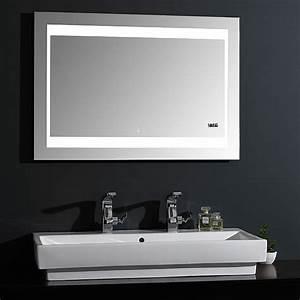 Matratze 100 X 70 : led lichtspiegel silver futura 100 x 70 cm energieeffizienzklasse a sensorschalter bauhaus ~ Markanthonyermac.com Haus und Dekorationen