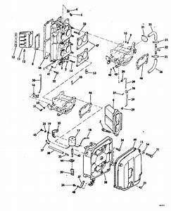 Johnson Intake Manifold Parts For 1978 115hp 115ml78c