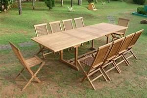 Salon De Jardin 12 Personnes : salon de jardin 10 12 personnes woody 3 1 klinkup ~ Dailycaller-alerts.com Idées de Décoration