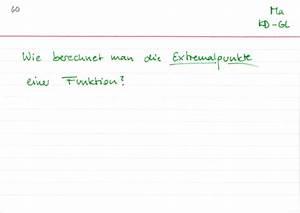 Funktionswert Berechnen : extremalpunkte berechnen lernwerk tv ~ Themetempest.com Abrechnung