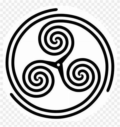 Celtic Circle Spiral Triskele Related Japan Symbol