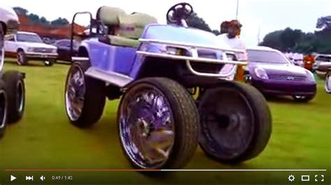 golf cart    rims check   big rims