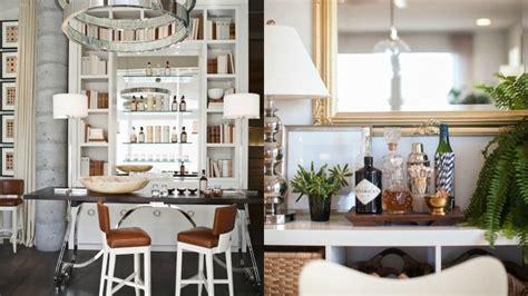 ideas  una zona de bar en casa