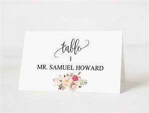 best 25 printable place cards ideas on pinterest print With plain place card template