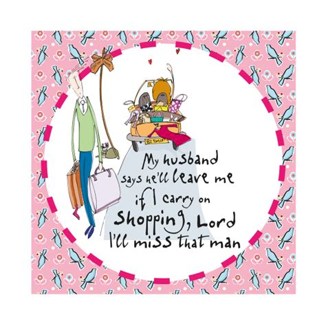Maybe you would like to learn more about one of these? Funny Wife & Husband Birthday Card - MY HUSBAND Says He'll LEAVE Me - HUMOROUS Birthday CARD ...
