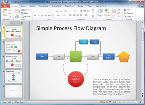 Proces Flow Diagram In Powerpoint how to make a flowchart in powerpoint