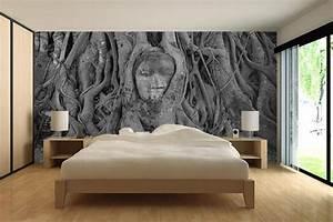 papier peint chambre izoa With chambre bébé design avec fleurs pour enterrement homme