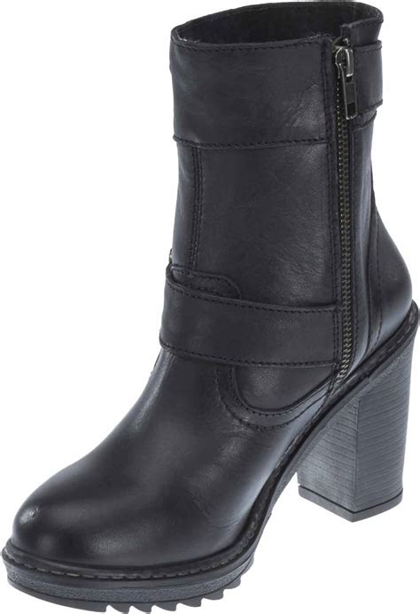 harley davidson women ludwell black fashion boots