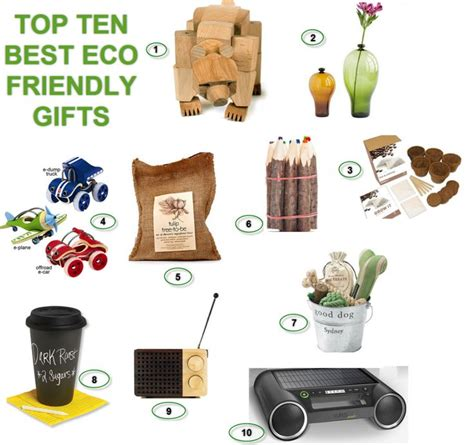 best eco friendly gift for christmas green shopping