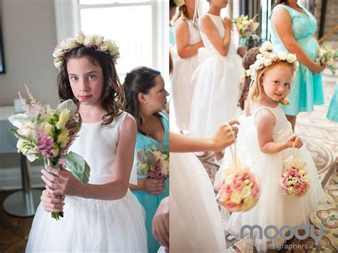 Wedding Ceremony Flowers for the Jr Bridesmaid, Flower