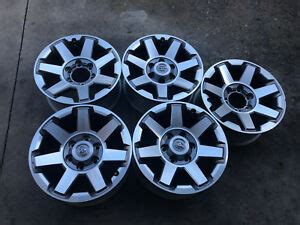 toyota runner fj cruiser   oem wheels