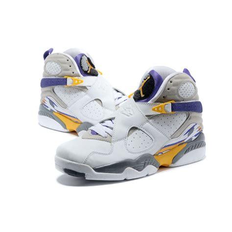 """Air Jordan 8 Retro """"Kobe Bryant Lakers Home"""" PE For Sale ..."""