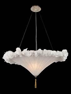 Bethel light white fabric shade ceiling fixture ga