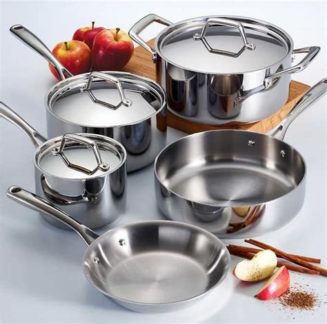 costco tramontina cookware ply piece tri clad stainless steel induction deal walmart members