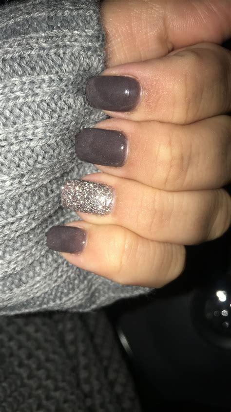 love  fall color sns nails nails   sns nails