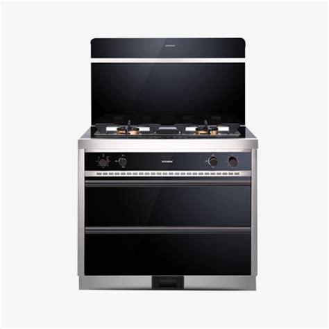 machine de cuisine une machine de cuisine gaz naturel cuisinière intégrée hotte de cuisine image png pour le