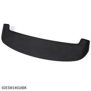 UnPainted Black Rear Trunk Spoiler Wing Fit 2013-2018 ...