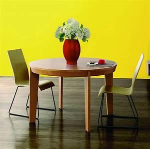 Table Ronde De Salon : table ronde bois moderne ~ Teatrodelosmanantiales.com Idées de Décoration