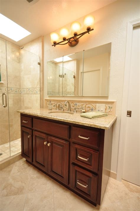 Kitchen Backsplash Ideas For Dark Cabinets - inspired medicine cabinet mirror mode san francisco traditional bathroom remodeling ideas with