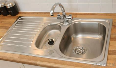 kitchen sink types stainless steel chrome popular faucet choices since they 2950