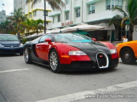 Bugatti In Miami by Bugatti Veyron Spotted In Miami Florida On 07 06 2011