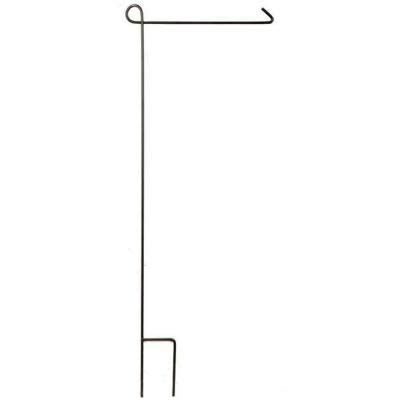 evergreen enterprises 44 in steel garden flag stand 21000