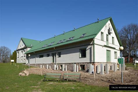 Izmaiņas muzeja ārpusē - Talsu novada muzejs