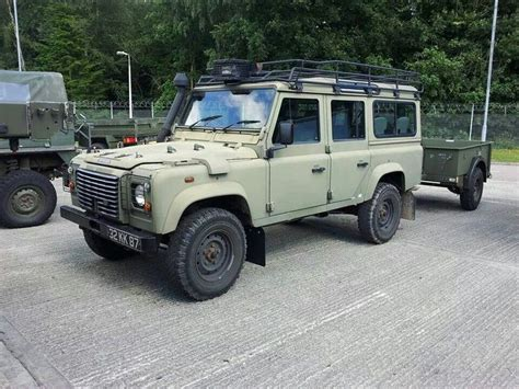 land rover military defender military land rover defender 110 station wagon landy