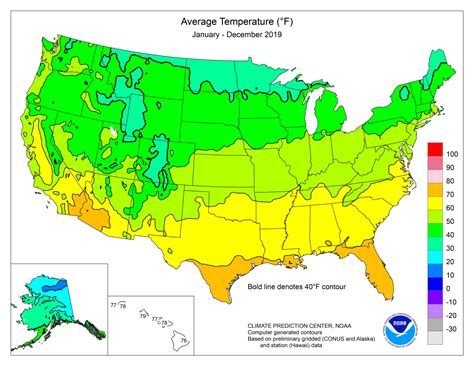 map weather temperatures climate maps states month noaa regional temperature usa average united data graphic center monitoring national 5thworldadventures tropical