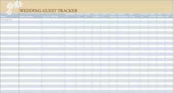 wedding guest list wedding guest list template new calendar template site