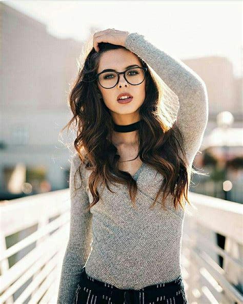 Pin de Génesis en fotos Lentes mujer Chicas con lentes
