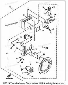 Yamaha Snowmobile 1999 Oem Parts Diagram For Alternate