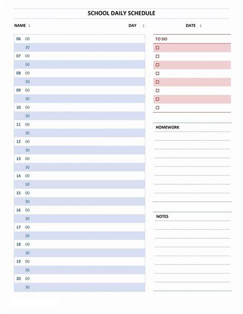 daily task calendar word template monthly calendar